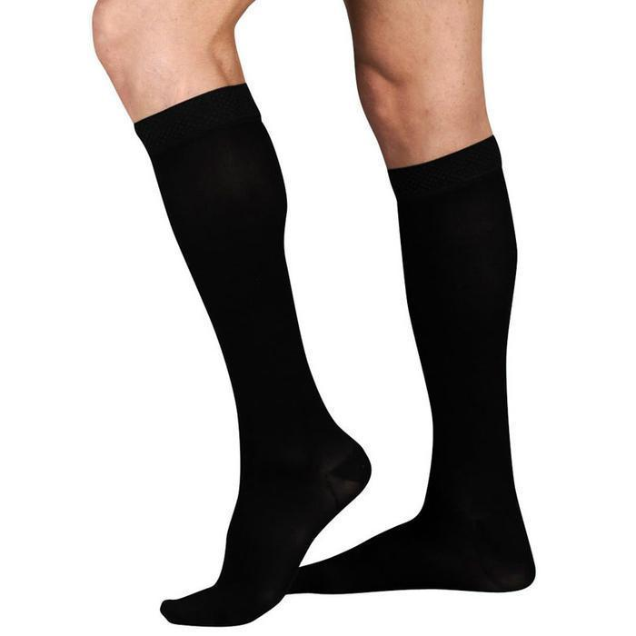 Juzo Dynamic Knee Highs With 5cm Silicone Border Closed Toe