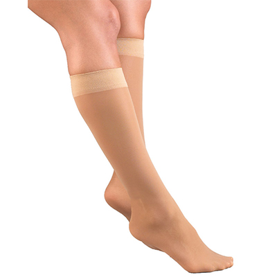 Jobst Activa Sheer Therapy Knee-High Closed Toe
