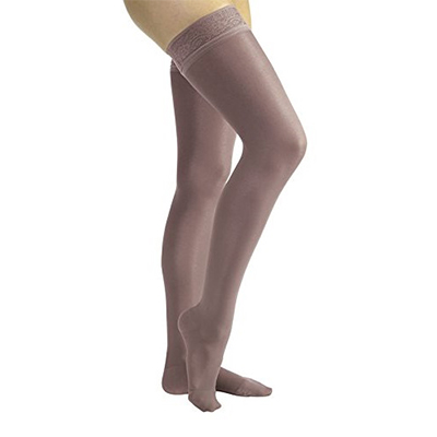 BSN Jobst UltraSheer Thigh-High Closed Toe Lace