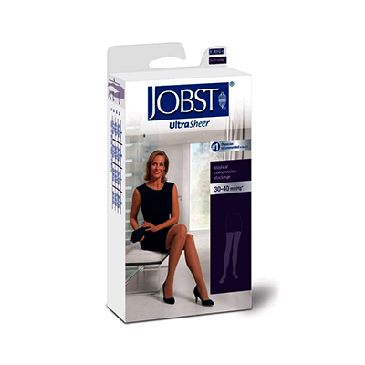 BSN Jobst UltraSheer Thigh-High Closed Toe Lace Petite