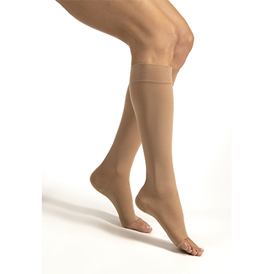 Jobst Relief Knee-High Open Toe Silicone Petite