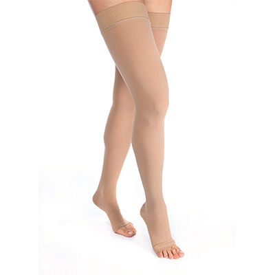 Jobst Relief Thigh-High Open Toe Silicone Petite