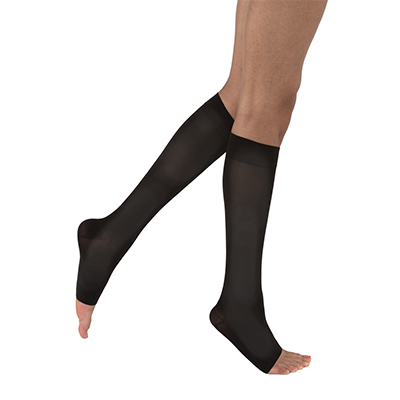Jobst Opaque SoftFit Knee-High Open Toe
