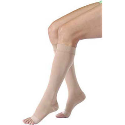 Jobst Activa Sheer Therapy Knee-High Open Toe