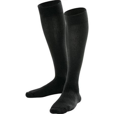 BSN Jobst Mens Dress Knee-High Closed Toe