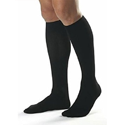 BSN Jobst Men Casual Knee Closed Toe Socks