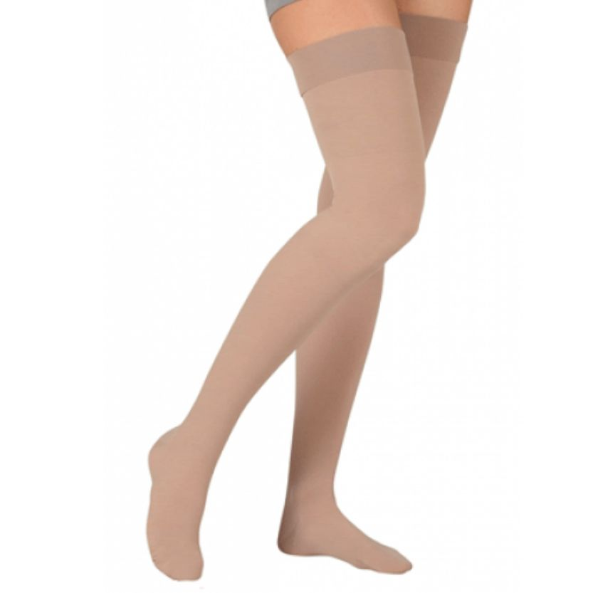 Juzo Dynamic Garter Style Thigh Highs Closed Toe