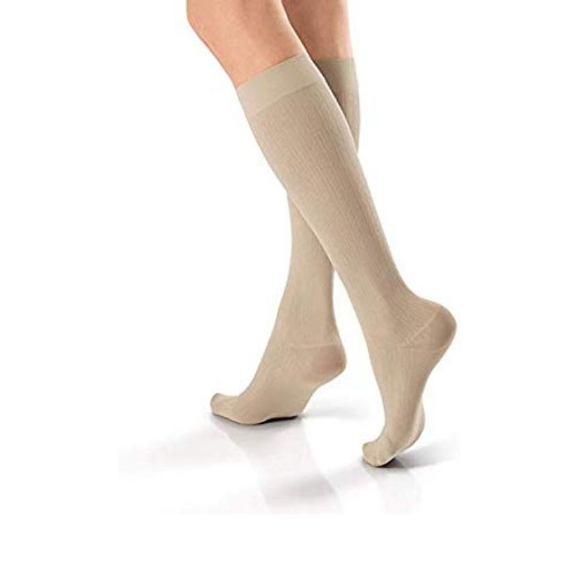 Jobst SoSOFT Knee-Highs Brocade Closed Toe Socks
