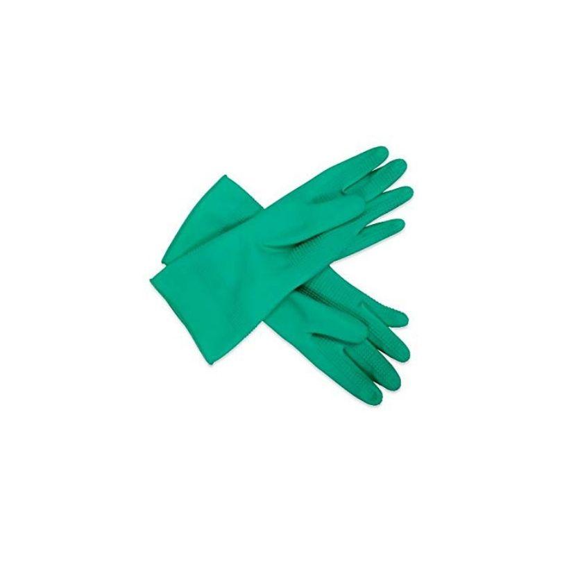 Ridged Pattern Rubber Gloves