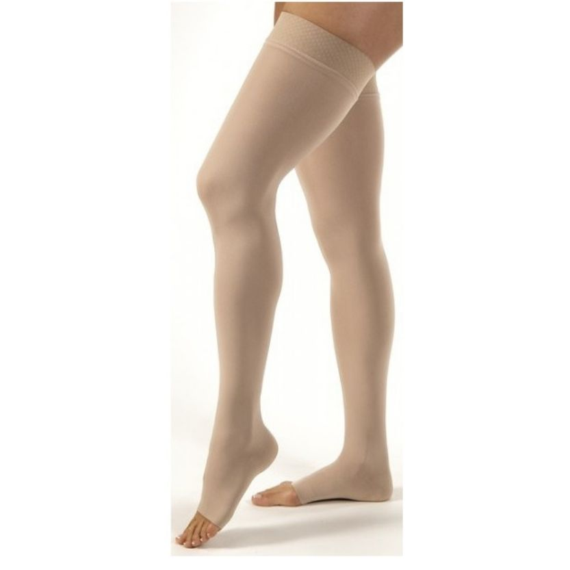 Jobst Opaque Thigh-High Open Toe Petite