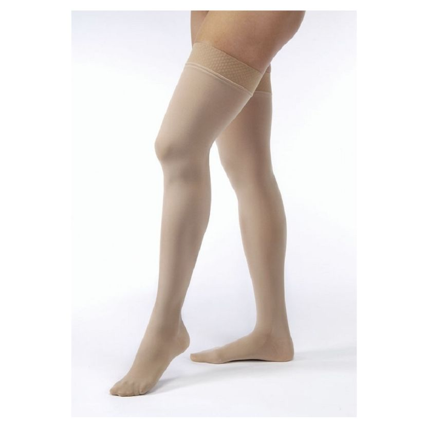 Jobst Opaque Thigh-High Closed Toe Petite