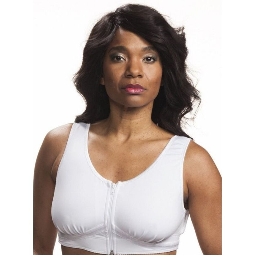 Wear Ease Grace Bra + 2 Drain Pouches And Breast Forms