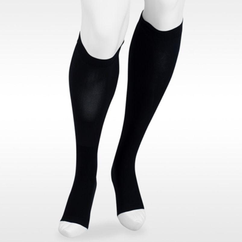 Juzo Dual Stretch Knee Highs Open Toe