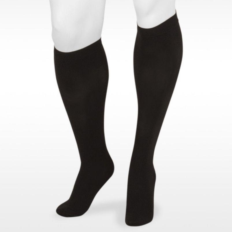 Juzo Basic Knee Highs Black